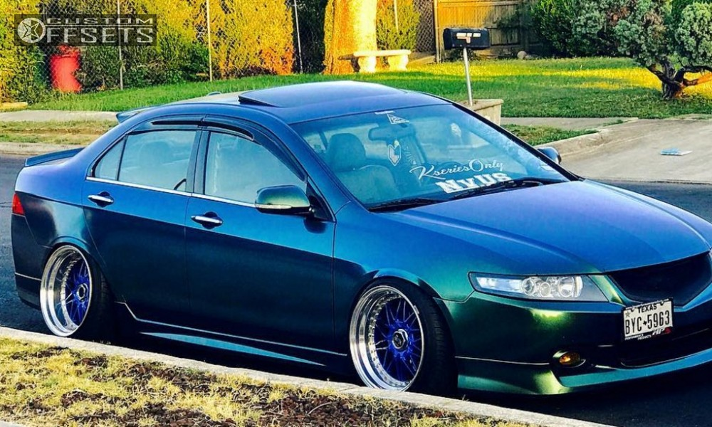 2005 Acura Tsx Work Rezax Function And Form Coilovers