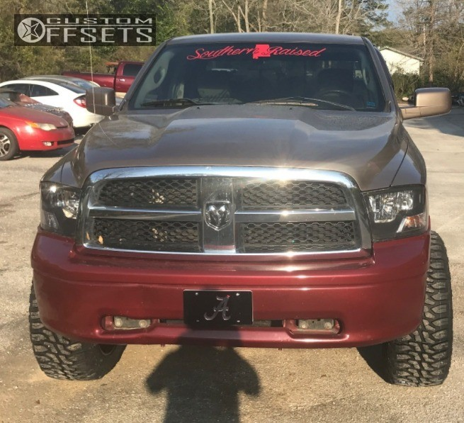 1 2010 Ram 1500 Dodge Suspension Lift 4 Ballistic Rage Black Super Aggressive 3 5