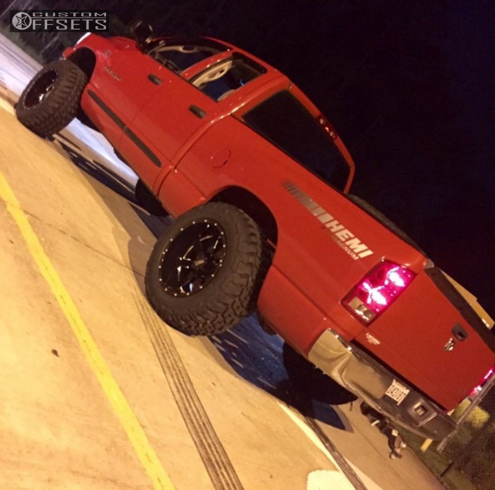 Cst Dodge Ram 2500 3500 2wd 3 5 Fabricated Lift Spindle: Wheel Offset 2006 Dodge Ram 1500 Super Aggressive 3 5