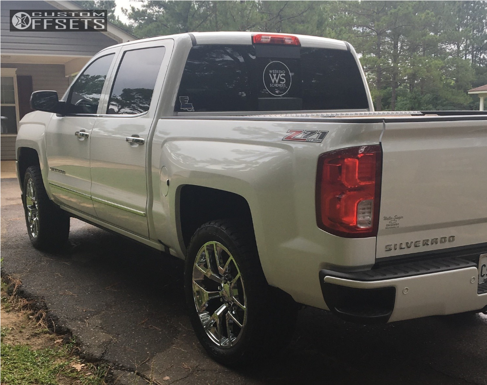 2017 chevrolet silverado 1500 oe performance 150 rough country leveling kit. Black Bedroom Furniture Sets. Home Design Ideas