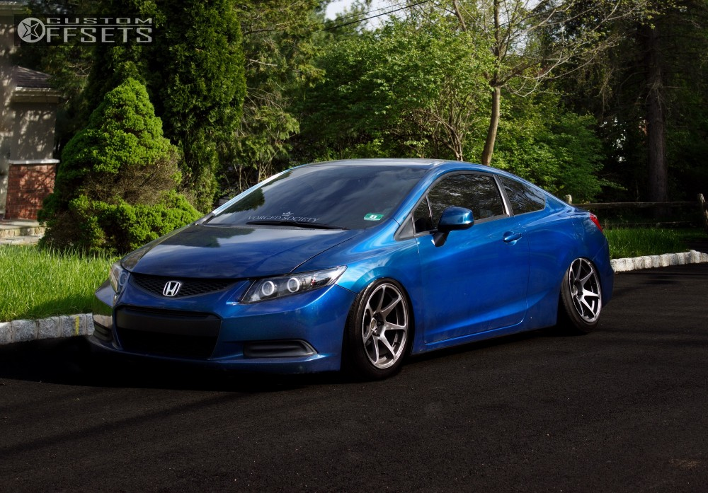 2012 Honda Civic Mb Wheels Battle Truhart Bagged