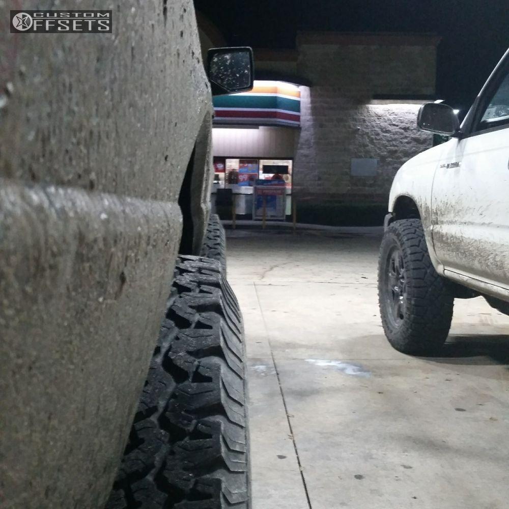 Ford Ranger All Terrain Tires: 2010 Ford Ranger Cragar D Window Leveling Kit Body Lift