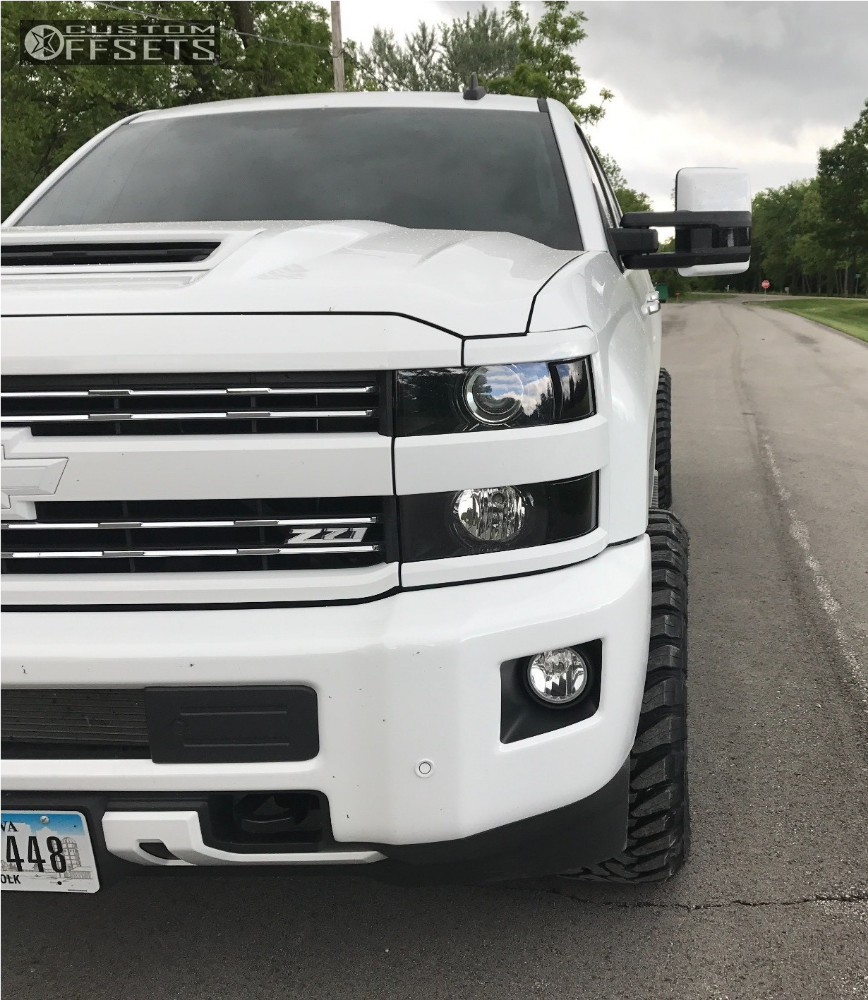 2 2017 Silverado 2500 Hd Chevrolet Level 2 Drop Rear Hostile 108 Chrome Aggressive 1 Outside Fender