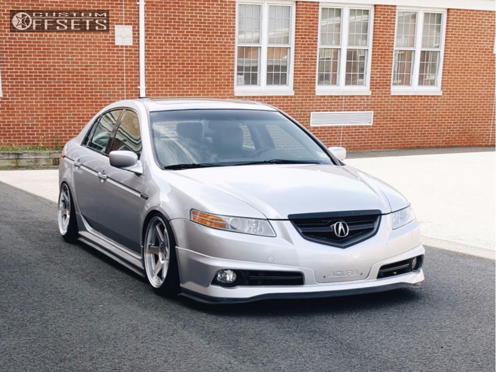 Wheel Offset Acura Tl Hellaflush Coilovers - 2004 acura tl wheel size
