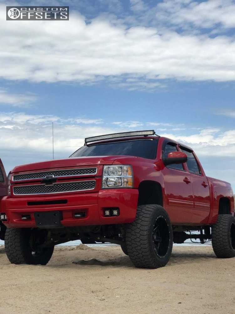 2012 chevrolet silverado 1500 ballistic rage rough country suspension lift 75in. Black Bedroom Furniture Sets. Home Design Ideas