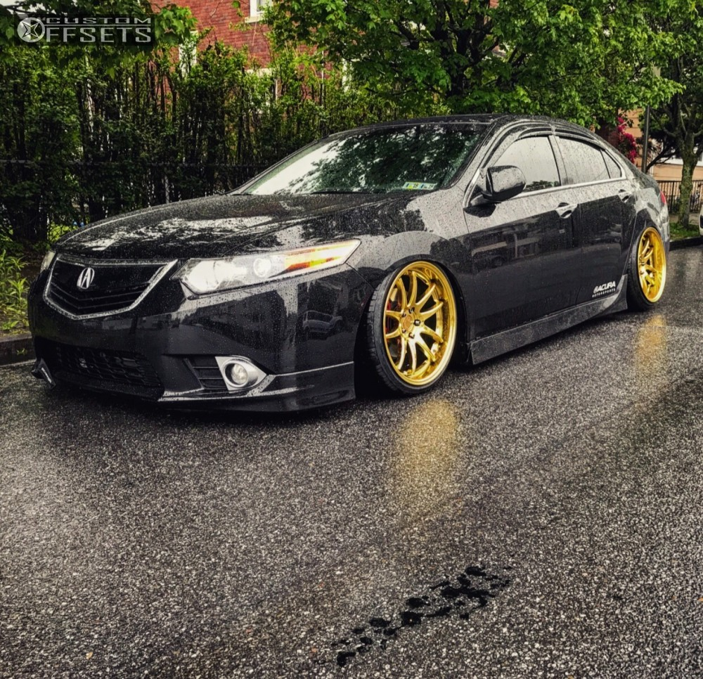 Wheel Offset Acura Tsx Tucked Bagged - Rims for acura tsx
