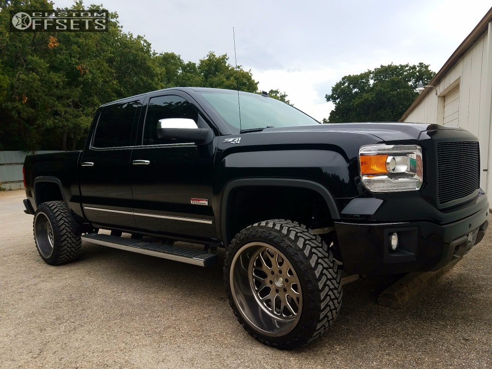 2014 Gmc Sierra 1500 Fuel Forged Ff19 Zone Suspension Lift