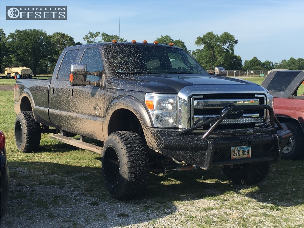 2015 ford f 250 super duty fuel maverick rough country suspension lift 45in. Black Bedroom Furniture Sets. Home Design Ideas