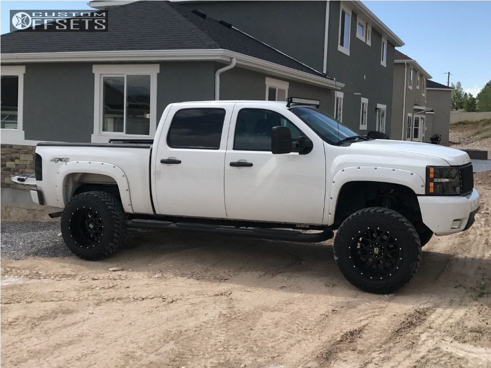 2012 chevrolet silverado 1500 xd xd820 rough country suspension lift 6in. Black Bedroom Furniture Sets. Home Design Ideas