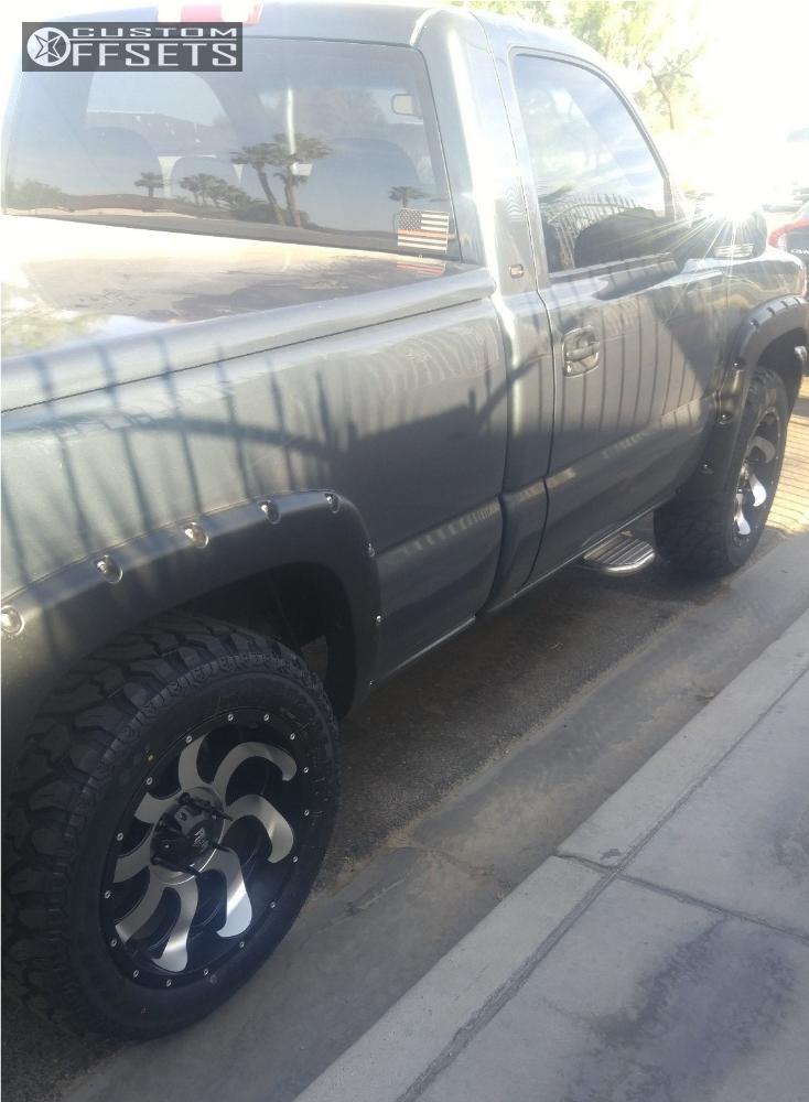 14 2000 Sierra 1500 Gmc Leveling Kit Red Dirt Road Titan Matte Black Flush