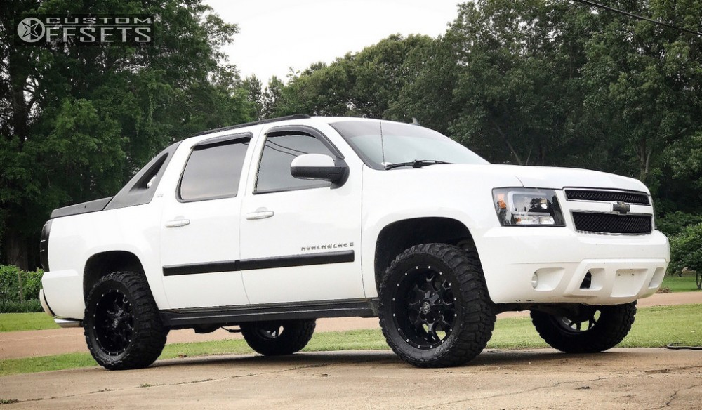 2007 chevrolet avalanche mayhem warrior leveling kit. Black Bedroom Furniture Sets. Home Design Ideas