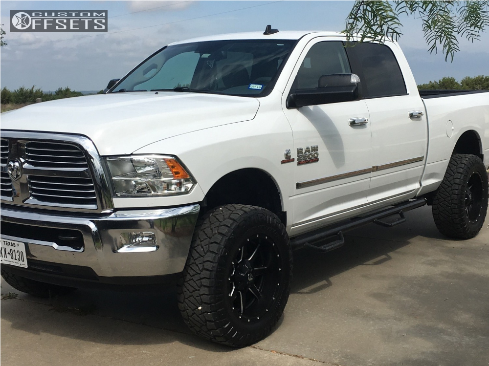 2016 ram 2500 fuel maverick d538 stock leveling kit. Black Bedroom Furniture Sets. Home Design Ideas