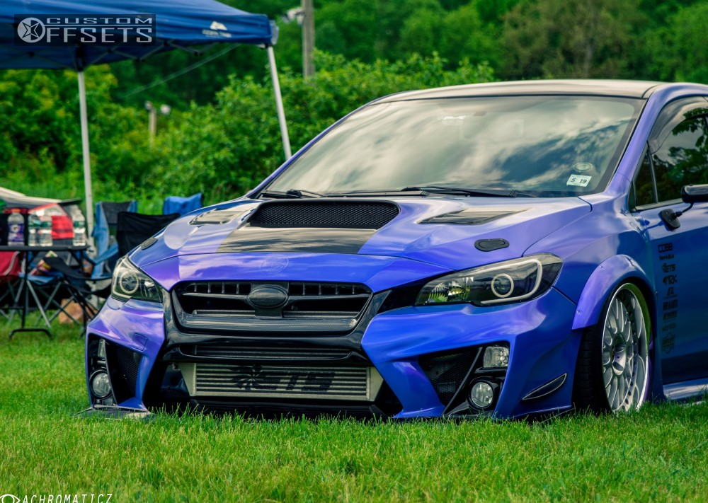 2015 subaru wrx sti work cr2p air lift performance bagged. Black Bedroom Furniture Sets. Home Design Ideas