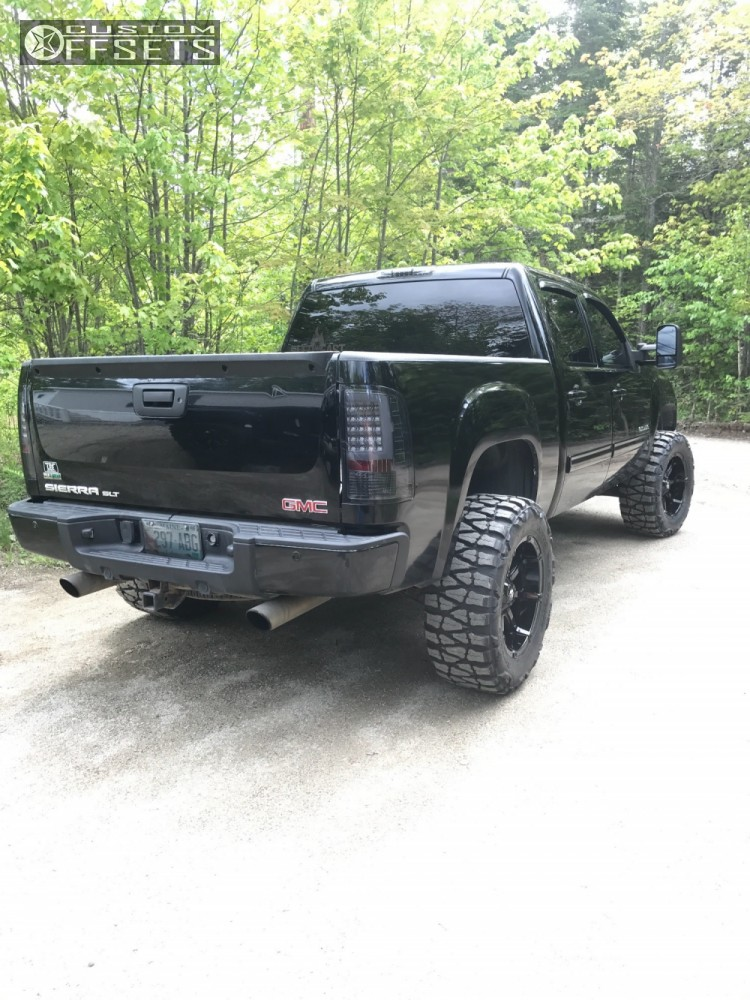 2010 gmc sierra 1500 fuel coupler rough country suspension lift 5in. Black Bedroom Furniture Sets. Home Design Ideas