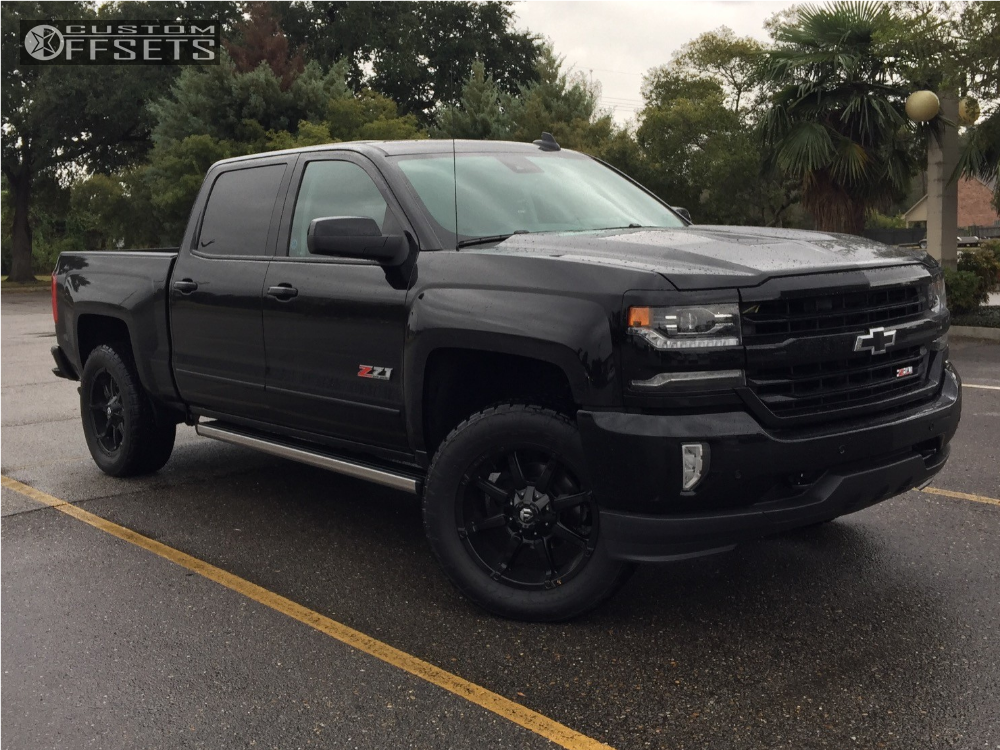 2017 chevrolet silverado 1500 fuel coupler stock leveling kit. Black Bedroom Furniture Sets. Home Design Ideas