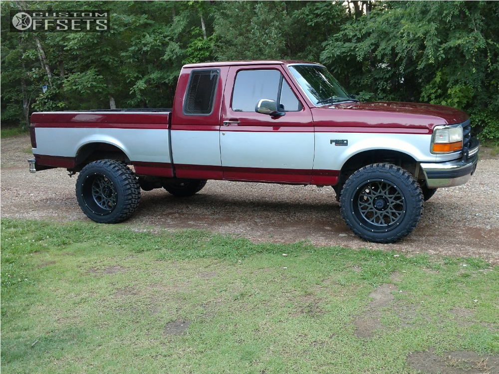 1996 Ford F 150 Vision Rocker Rough Country Suspension Lift 4in
