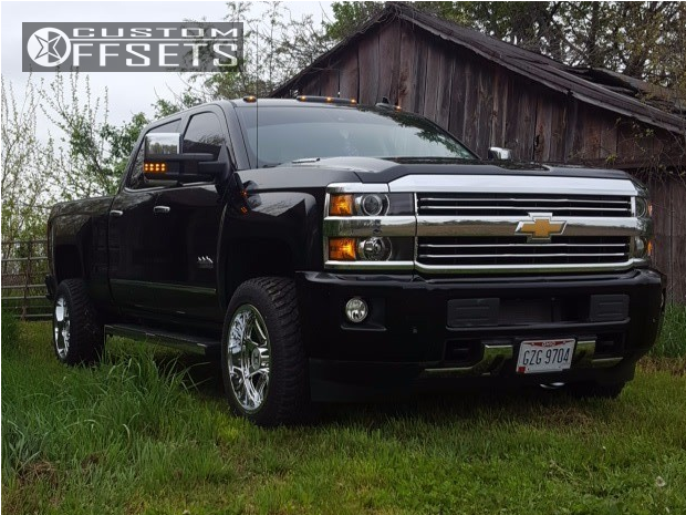 1 2016 Silverado 2500 Hd Chevrolet Stock Hostile Alpha Chrome Slightly Aggressive
