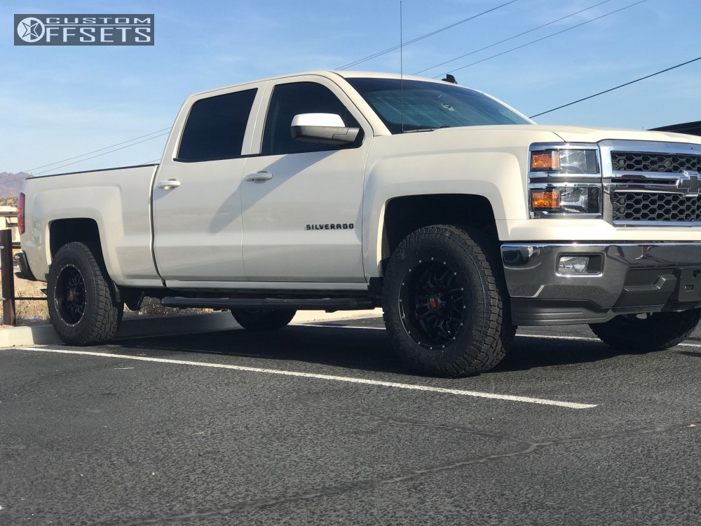 12 2014 Silverado 1500 Chevrolet Leveling Kit Havok H109 Black Slightly Aggressive