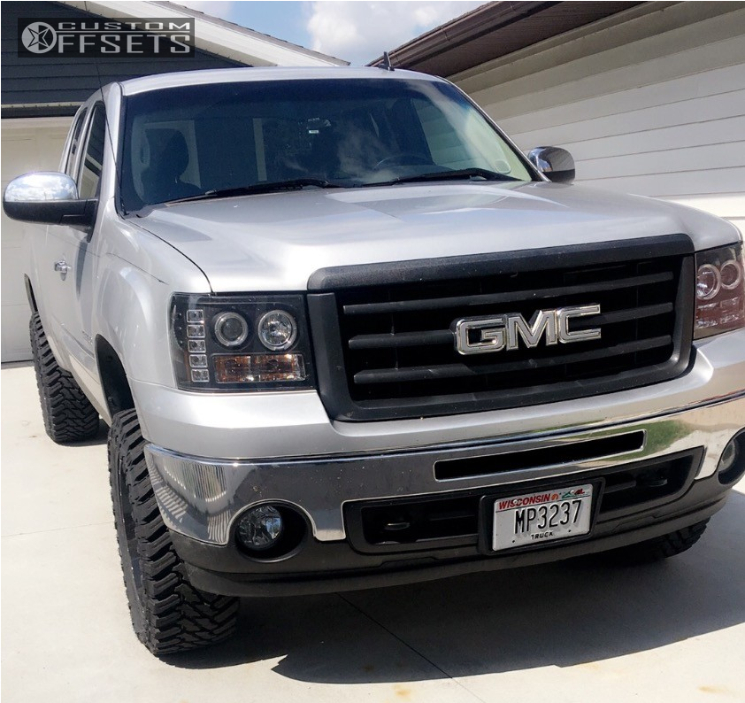 13 2013 Sierra 1500 Gmc Suspension Lift 35 Hostile Alpha Machined Black Slightly Aggressive