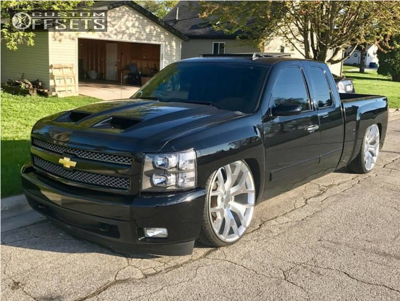2008 chevrolet silverado 1500 oe performance 169 air ride. Black Bedroom Furniture Sets. Home Design Ideas