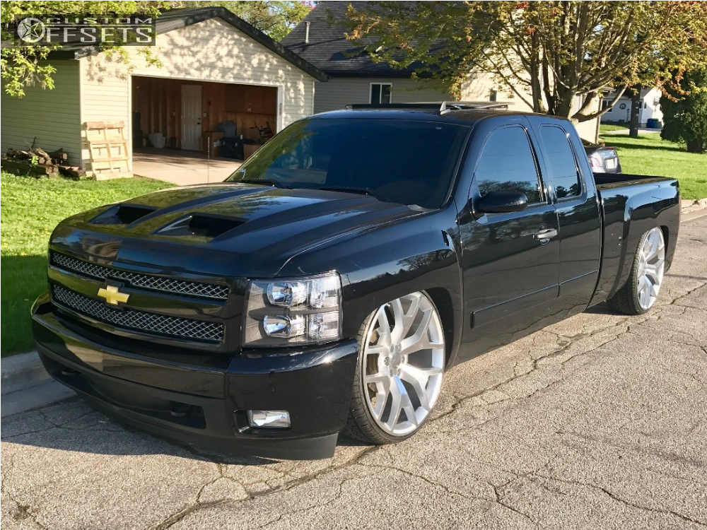 wheel offset 2008 chevrolet silverado 1500 tucked bagged. Black Bedroom Furniture Sets. Home Design Ideas