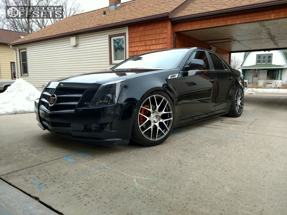 2010 cadillac cts tsw nurburgring bc racing lowered adj. Black Bedroom Furniture Sets. Home Design Ideas