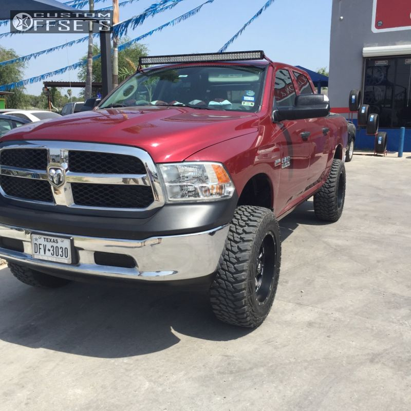 2 2014 1500 Ram Suspension Lift 7 Fuel Throttle Black Super Aggressive 3 5