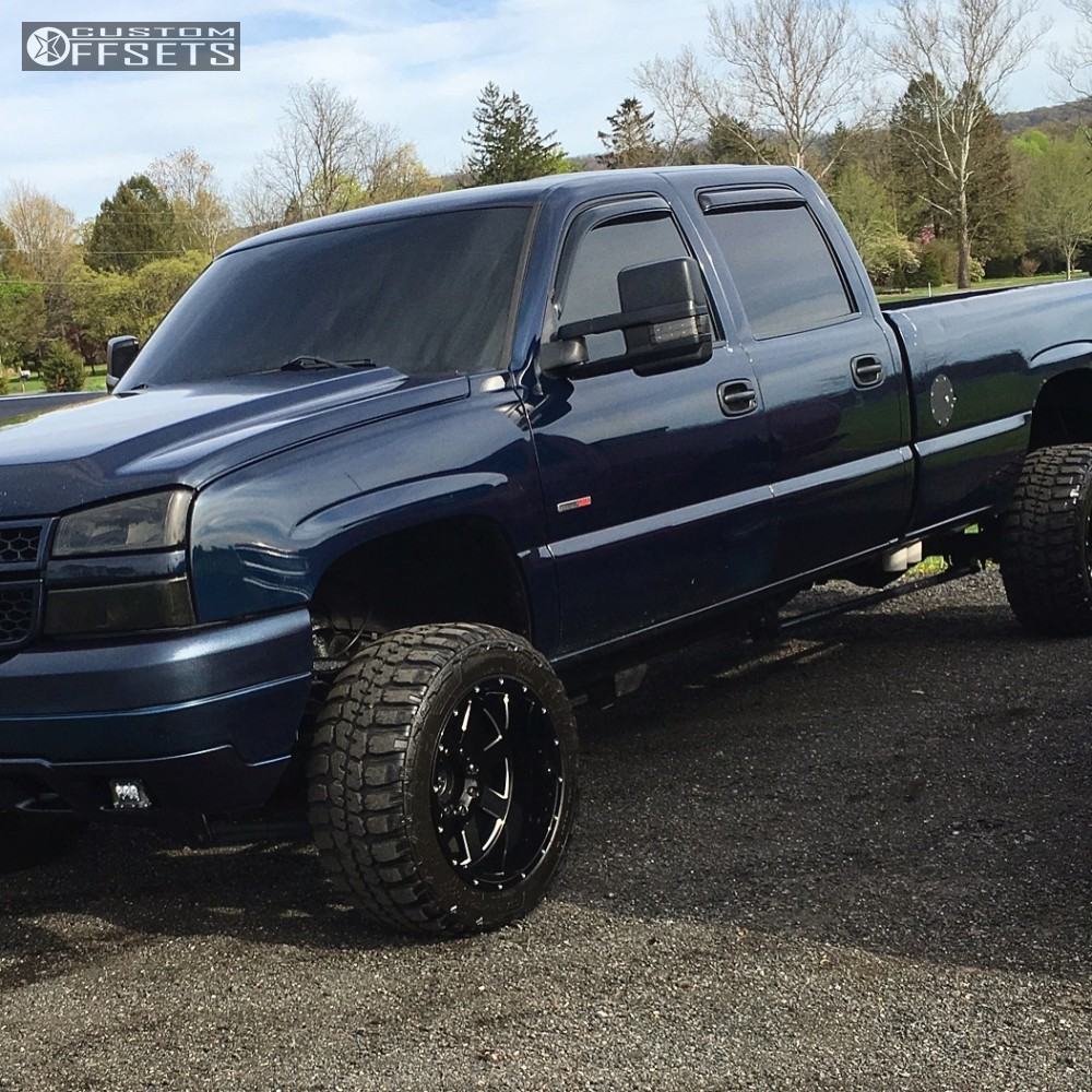 Wheel Offset 2005 Chevrolet Silverado 2500 Hd Super Aggressive 3 5 ...