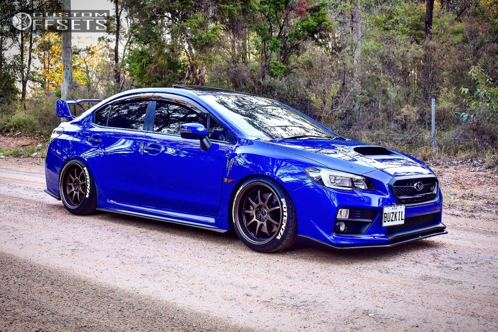 2015 Subaru Wrx Sti Work D9r Mca Coilovers
