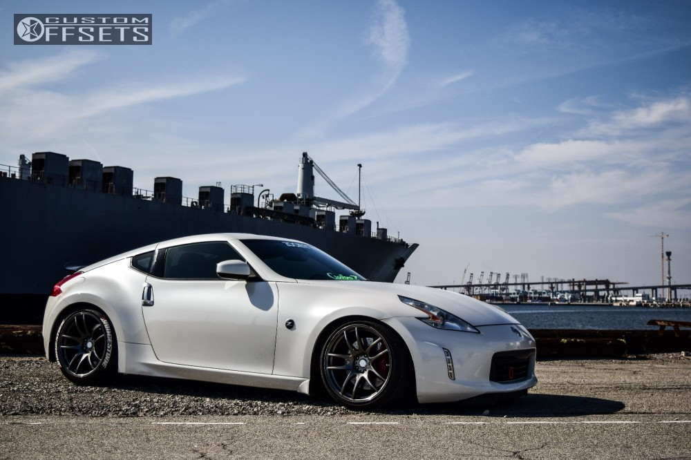 2013 Nissan 370z Vordoven Forme 9 Bc Racing Coilovers