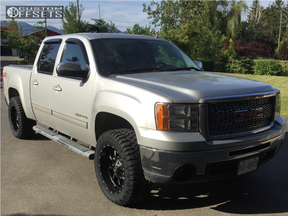 2016 Gmc Sierra 1500 Fuel Krank Rough Country Leveling Kit