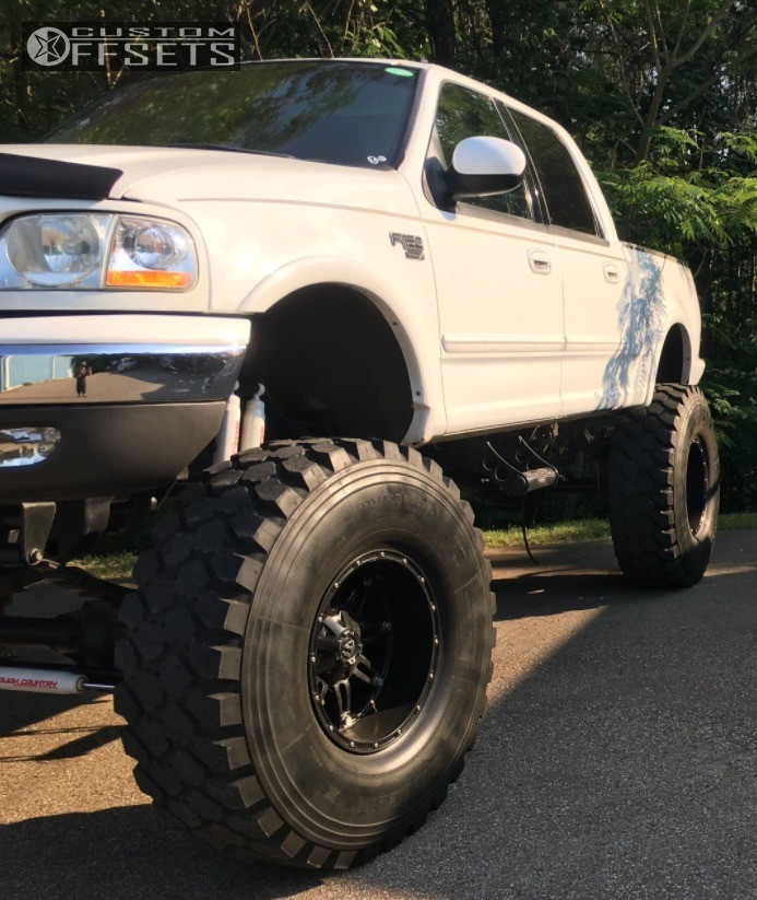 2002 Ford F 150: 2002 Ford F 150 Fuel Hostage Sas Lifted 12in Custom Offsets