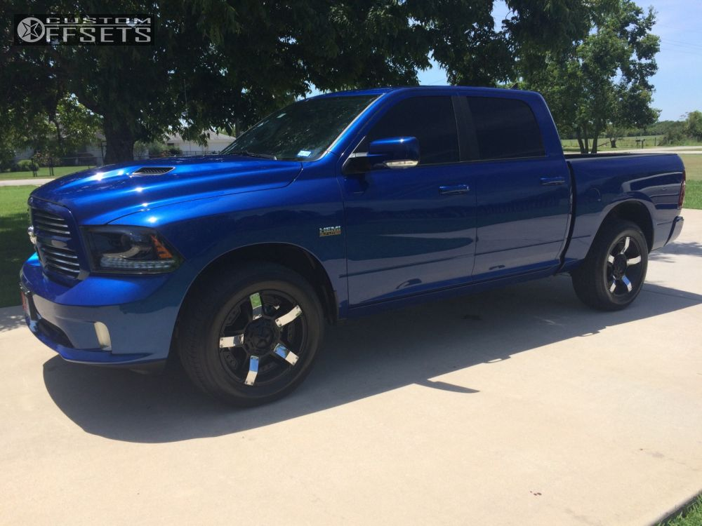 Ram Dodge Stock Xd Rock Star Black Flush