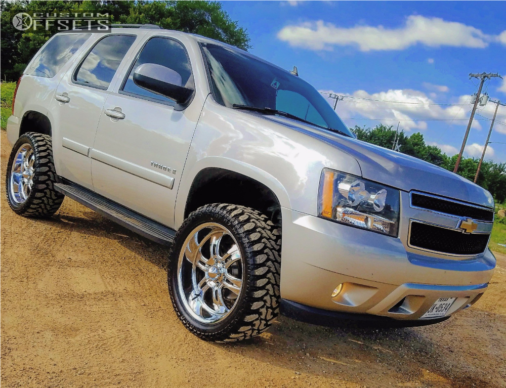 2008 Chevrolet Tahoe Weld Forged Evo Heavy Metal ...