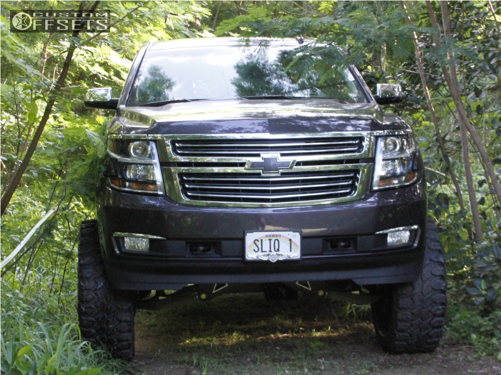 2016 chevrolet tahoe fuel forged ff29 mcgaughys suspension lift 9in. Black Bedroom Furniture Sets. Home Design Ideas