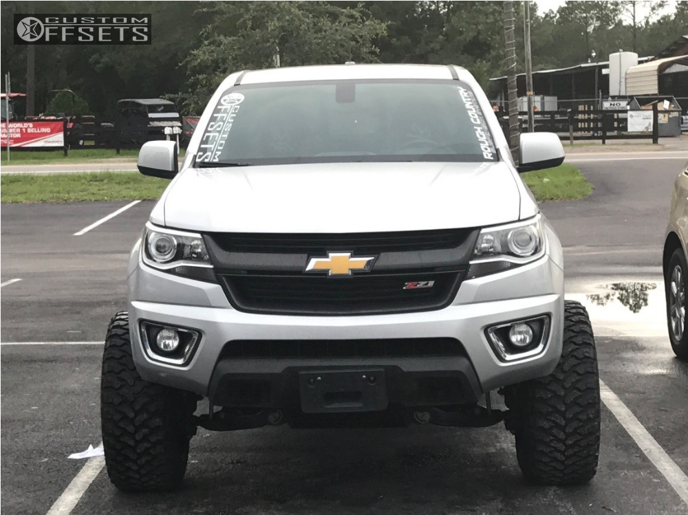 2016 chevrolet colorado vision prowler rough country suspension lift 6in. Black Bedroom Furniture Sets. Home Design Ideas