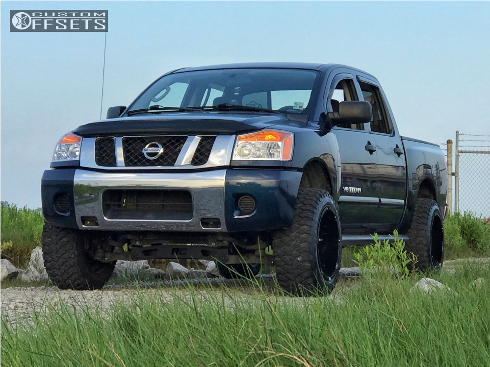 Rough Country 4 Suspension Lift Kit 04 15 Nissan Titan