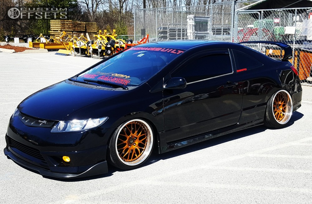 15 2006 Civic Honda Bagged Work Vs Xx Custom Flush