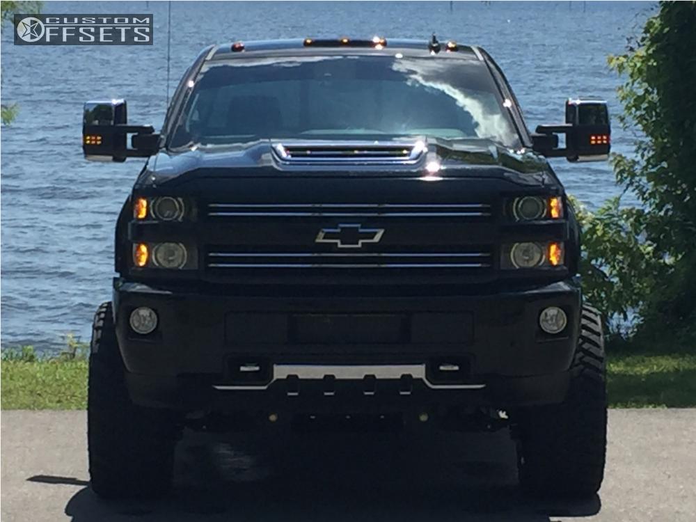 2 2017 Silverado 2500 Hd Chevrolet Suspension Lift 5 Hostile Stryker Black Super Aggressive 3 5