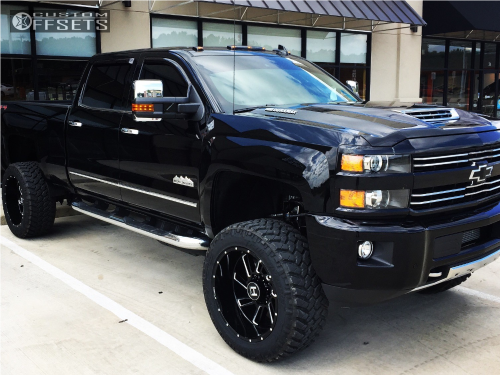 4 2017 Silverado 2500 Hd Chevrolet Suspension Lift 5 Hostile Stryker Black Super Aggressive 3 5