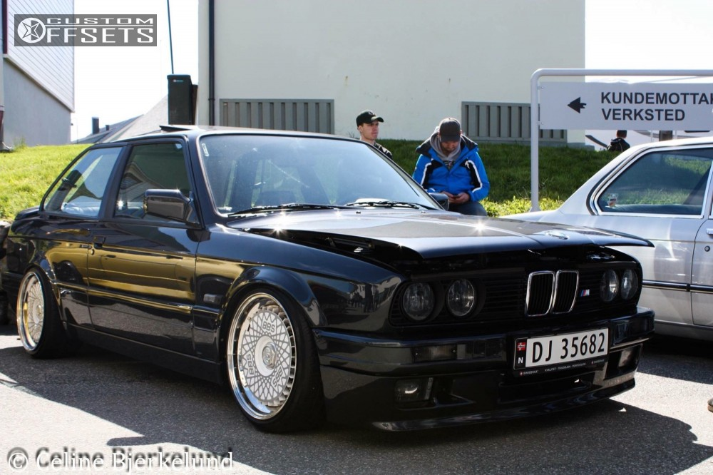 1987 Bmw 325i Bbs Rs Kw Suspension Coilovers