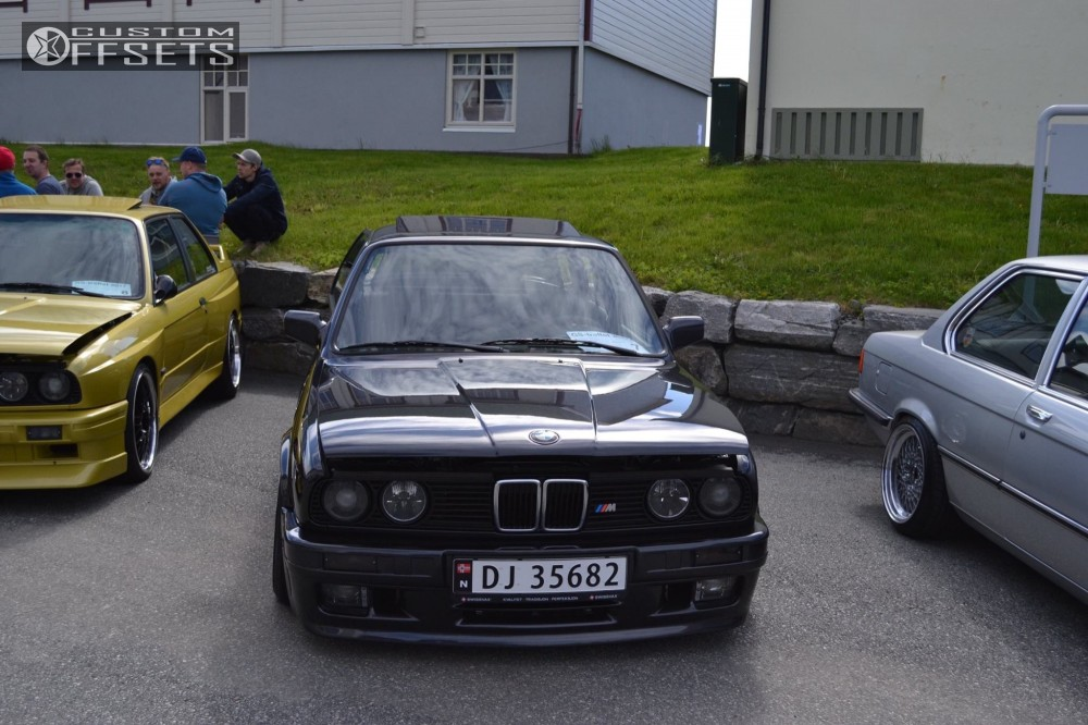 1987 Bmw 325i Bbs Rs Kw V3 Coilovers
