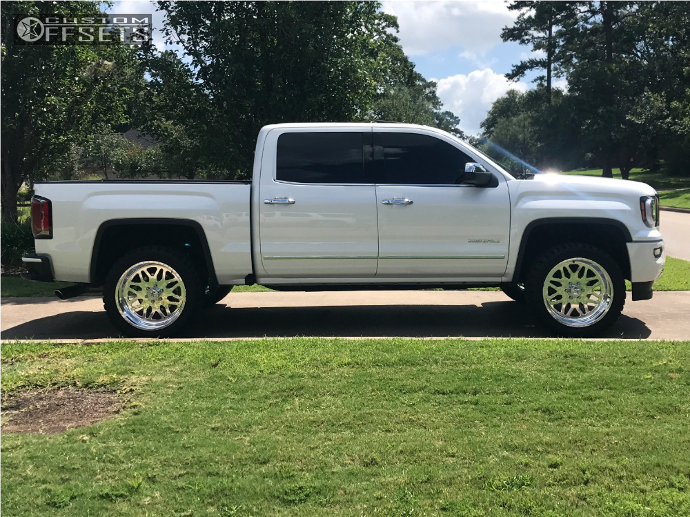 3 2017 Sierra 1500 Gmc Leveling Kit American Force Trax Ss Polished Slightly Aggressive