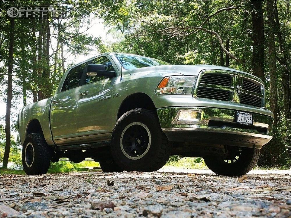 1 2010 Ram 1500 Dodge Suspension Lift 4 Xd 123 Black Aggressive 1 Outside Fender