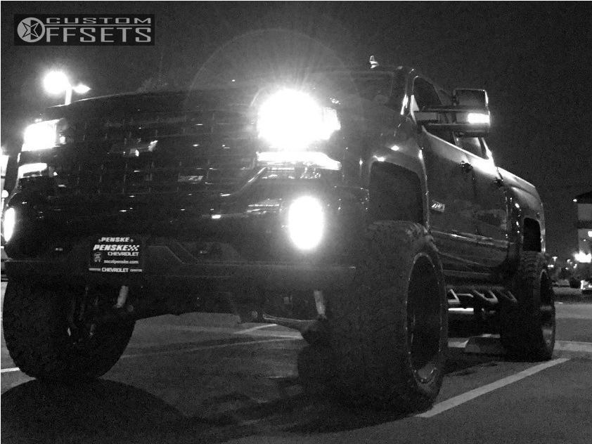2 2017 Silverado 1500 Chevrolet Suspension Lift 7 Hostile Stryker Black Super Aggressive 3 5