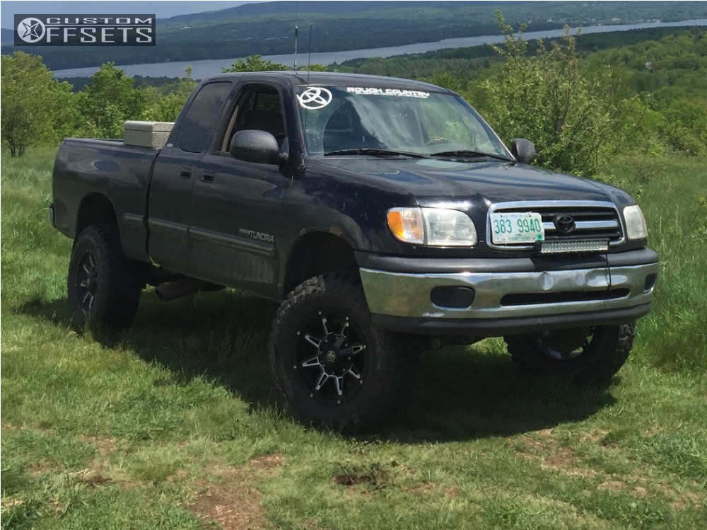 2001 toyota tundra mayhem rampage rough country suspension lift 3in. Black Bedroom Furniture Sets. Home Design Ideas