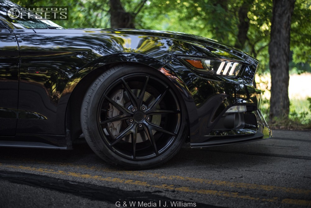 Niche Wheels Mustang >> 2016 Ford Mustang Niche Misano Eibach Lowering Springs