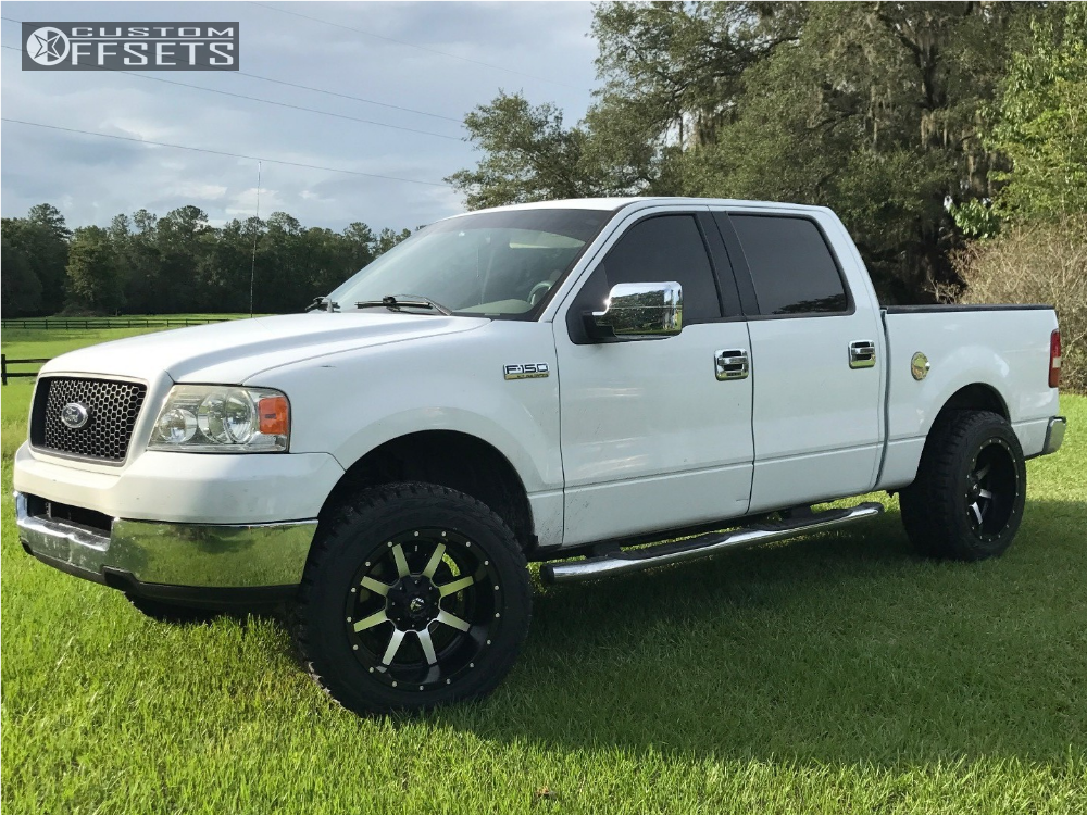 2005 Ford F 150 Fuel Maverick Rough Country Leveling Kit