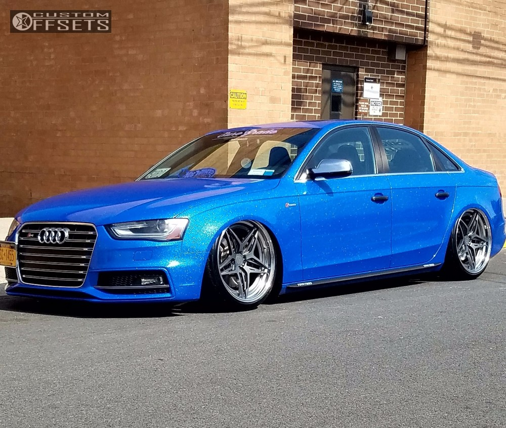 2014 audi a4 quattro rotiform vda airlift bagged. Black Bedroom Furniture Sets. Home Design Ideas