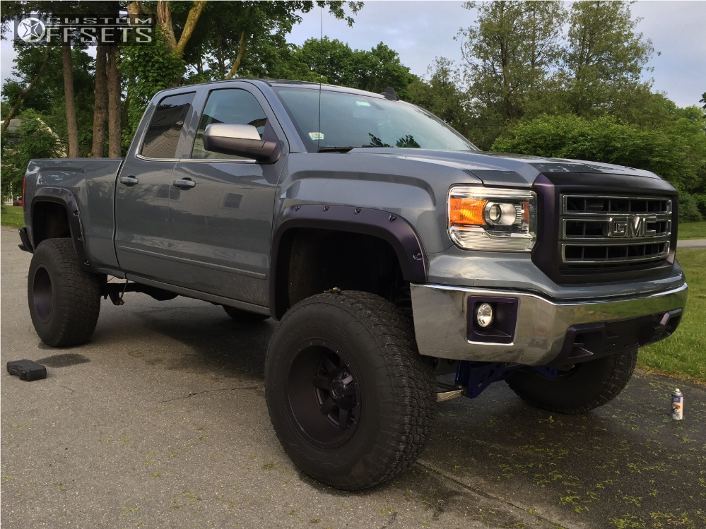 2015 gmc sierra 1500 fuel maverick mcgaughys suspension - 2015 gmc sierra interior accessories ...
